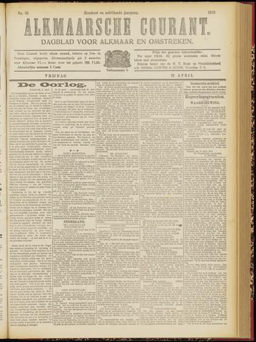 Alkmaarsche Courant 1916-04-21