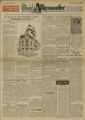De Vrije Alkmaarder 1948-01-30