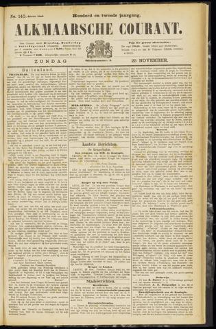 Alkmaarsche Courant 1900-11-25