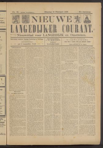 Nieuwe Langedijker Courant 1922-02-13