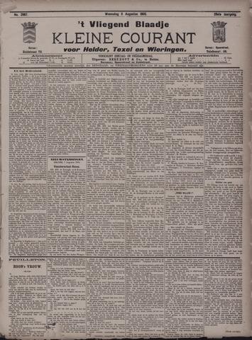 Vliegend blaadje : nieuws- en advertentiebode voor Den Helder 1900-08-08