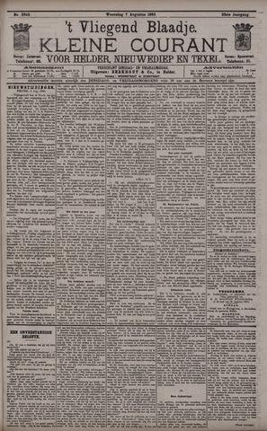 Vliegend blaadje : nieuws- en advertentiebode voor Den Helder 1895-08-07
