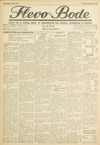Flevo-bode: nieuwsblad voor Wieringen-Wieringermeer 1948-06-02