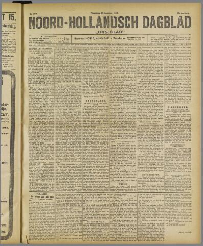 Ons Blad : katholiek nieuwsblad voor N-H 1922-12-13