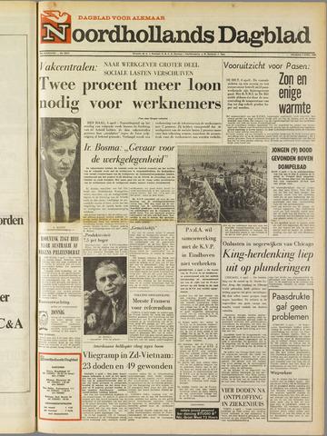 Noordhollands Dagblad : dagblad voor Alkmaar en omgeving 1969-04-04