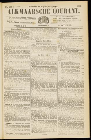 Alkmaarsche Courant 1903-10-23