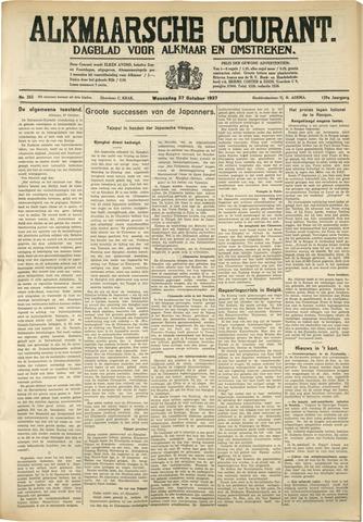 Alkmaarsche Courant 1937-10-27