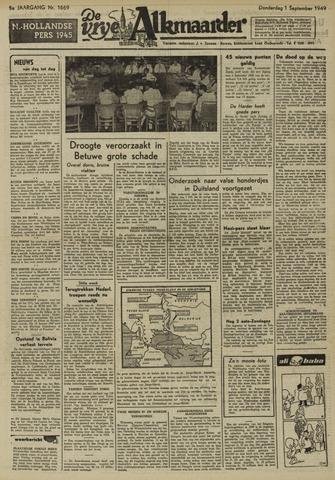 De Vrije Alkmaarder 1949-09-01