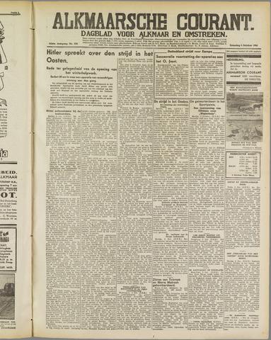 Alkmaarsche Courant 1941-10-04