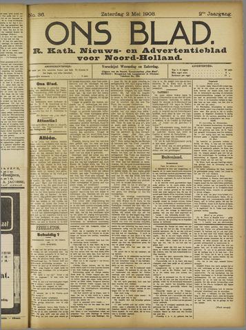 Ons Blad : katholiek nieuwsblad voor N-H 1908-05-02