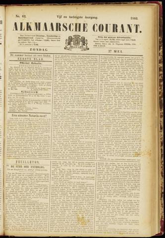 Alkmaarsche Courant 1883-05-27