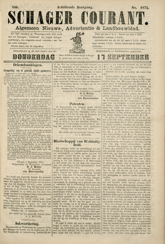 Schager Courant 1874-09-17