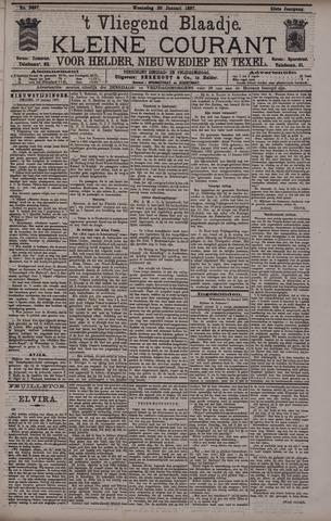 Vliegend blaadje : nieuws- en advertentiebode voor Den Helder 1897-01-20