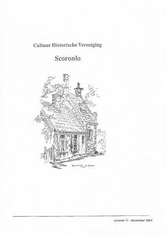 Tijdschrift van cultuurhistorische vereniging Scoronlo 1994-12-01