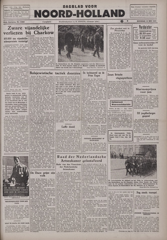 Dagblad Noord-Holland, Schager editie 1942-05-19