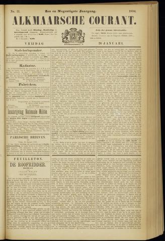 Alkmaarsche Courant 1894-01-26