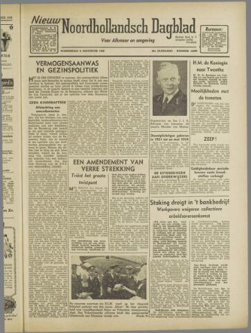 Nieuw Noordhollandsch Dagblad : voor Alkmaar en omgeving 1946-08-08