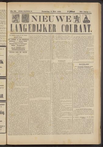 Nieuwe Langedijker Courant 1923-05-05