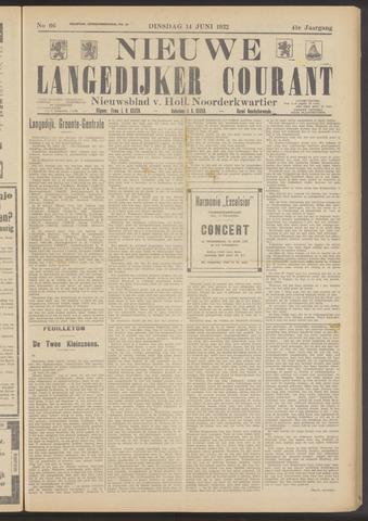 Nieuwe Langedijker Courant 1932-06-14