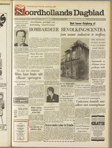 Noordhollands Dagblad : dagblad voor Alkmaar en omgeving 1967-09-27
