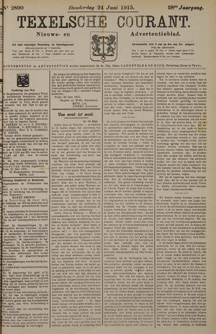 Texelsche Courant 1915-06-24