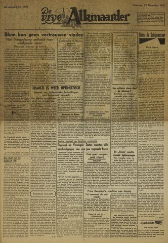De Vrije Alkmaarder 1947-11-22
