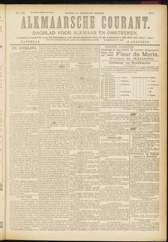 Alkmaarsche Courant 1917-08-11