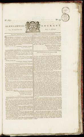 Alkmaarsche Courant 1831-06-06