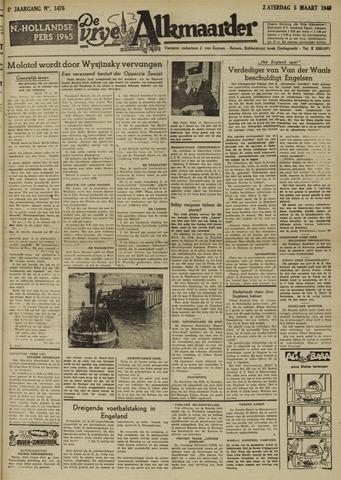 De Vrije Alkmaarder 1949-03-05