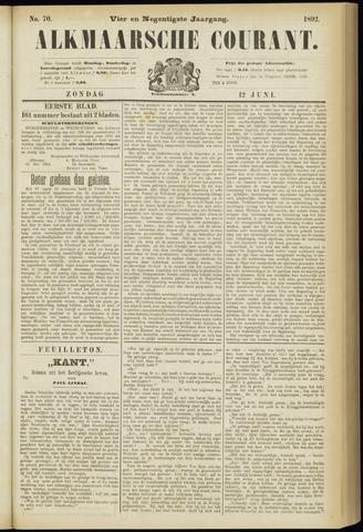 Alkmaarsche Courant 1892-06-12