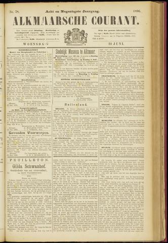 Alkmaarsche Courant 1896-06-24
