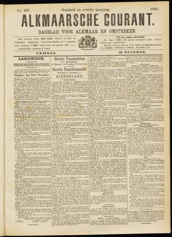 Alkmaarsche Courant 1906-10-19