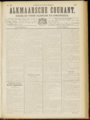 Alkmaarsche Courant 1911-10-19