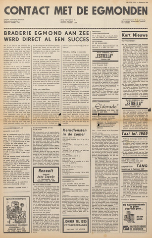 Contact met de Egmonden 1971-06-16