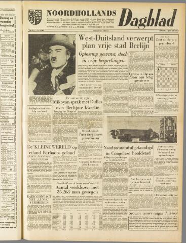 Noordhollands Dagblad : dagblad voor Alkmaar en omgeving 1959-01-06