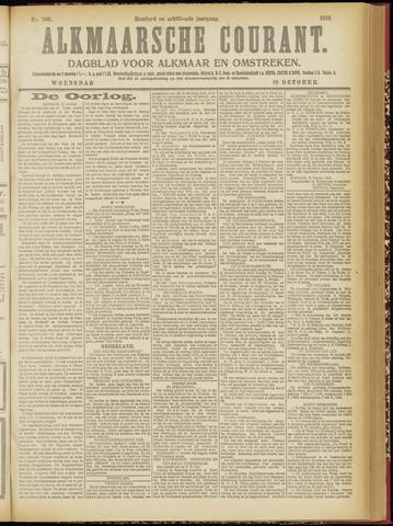 Alkmaarsche Courant 1916-10-18