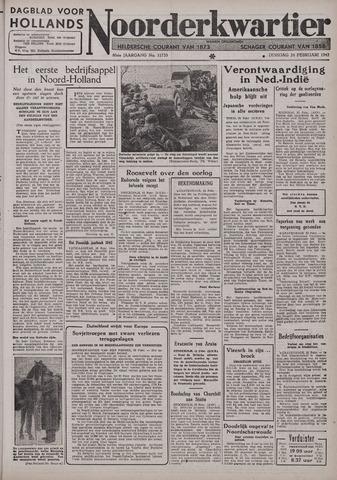 Dagblad voor Hollands Noorderkwartier 1942-02-24
