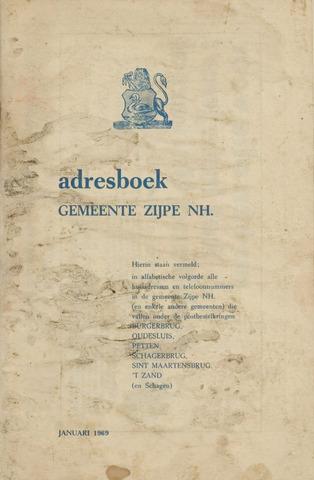 Adresboek van Zijpe 1969-01-01