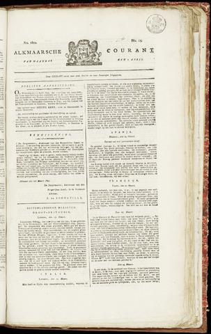 Alkmaarsche Courant 1822-04-01