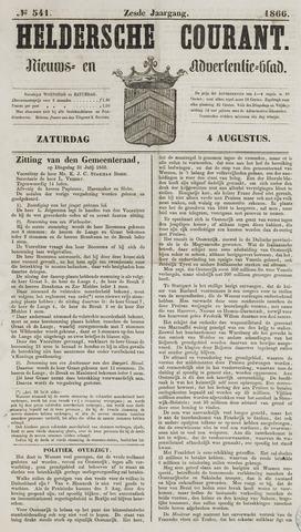 Heldersche Courant 1866-08-04