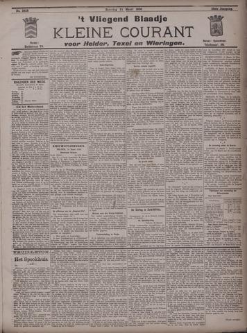 Vliegend blaadje : nieuws- en advertentiebode voor Den Helder 1900-03-24