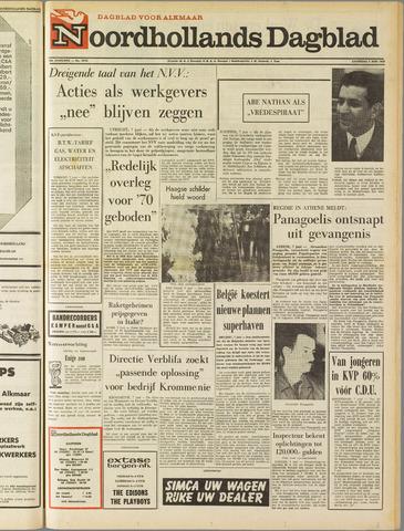 Noordhollands Dagblad : dagblad voor Alkmaar en omgeving 1969-06-07