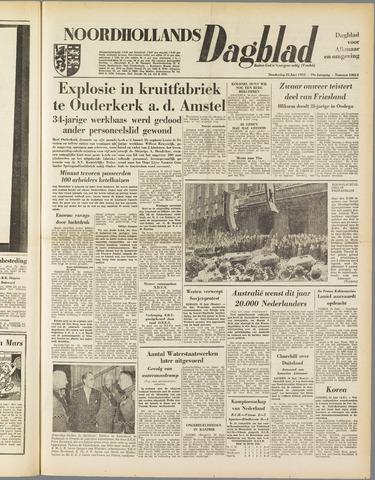 Noordhollands Dagblad : dagblad voor Alkmaar en omgeving 1953-06-25