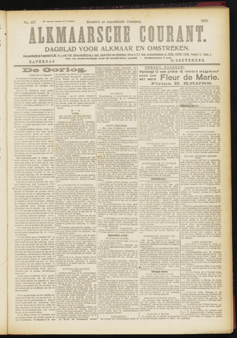 Alkmaarsche Courant 1917-09-15