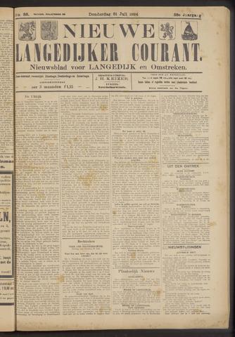 Nieuwe Langedijker Courant 1924-07-31