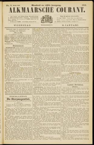 Alkmaarsche Courant 1903-01-21