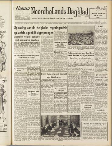 Nieuw Noordhollandsch Dagblad : voor Alkmaar en omgeving 1950-04-29