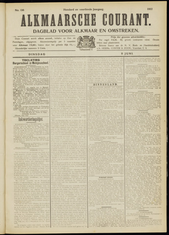 Alkmaarsche Courant 1912-06-11