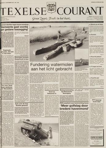 Texelsche Courant 2000-02-29