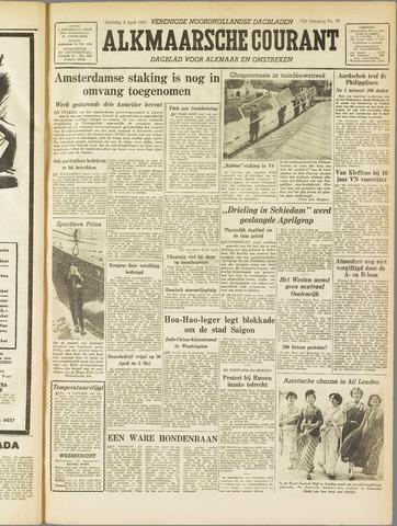 Alkmaarsche Courant 1955-04-02